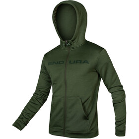 Endura Hummvee Capuchon Jas Heren, forest green